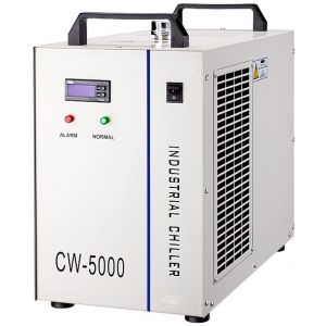 S&A Electronic Water Chiller Model CW5000 - One outlet for One CO2 Laser tube