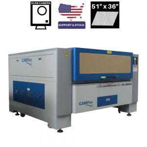 CAMFive Laser CCD Scan Camera System CO2 Cutter