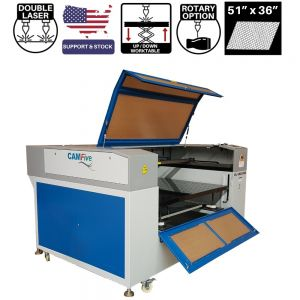 CAMFive Laser CO2 Tube Head Cutter & Engraver for Wood Acrylic