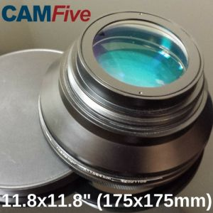 CAMFive Laser Lens 11.8'' x 11.8'' marking or engraving area for Fiber Optic Laser Markers and Engravers