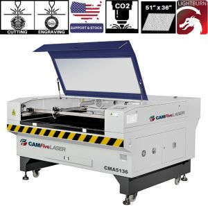 Co2 Tube CAMFive Laser Cutter Engraver Wood Acrylic Fabric