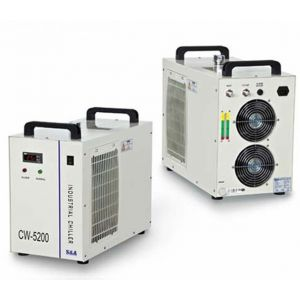 S&A Electronic Water Chiller Model CW5200 - Two outlets for Two CO2 Laser tubes
