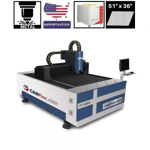 CAMFive Laser Fiber Metal Cutter Machine for Stainless Steel