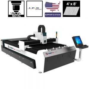 8 x 4 ft 1000W IPG CAMFive Laser Fiber Metal Cutter FC84A Cutting Machine for stainless galvanized and mild steel, aluminum, and other metals