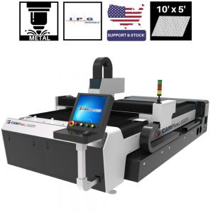 5 x 10 ft 1000W IPG CAMFive Laser Fiber Metal Cutter FC105A Cutting Machine for stainless  galvanized and mild steel, aluminum, and other metals