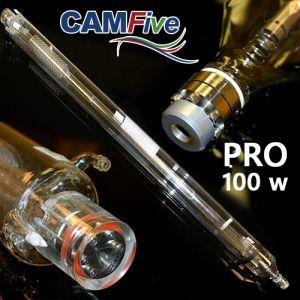 CAMFive Laser CO2 Glass Tube 100W Model PRO100 for laser cutter & engravers