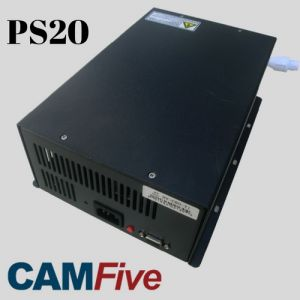 Power Supply 20000 watts PS20 Model for 70w to 100w CO2 Tubes of laser cutter & engravers CAMFive Laser Brand