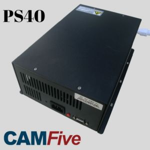 Power Supply 40000 watts PS40 Model for 100w to 130w CO2 Tubes of laser cutter & engravers CAMFive Laser Brand