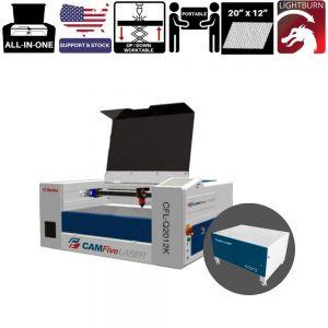 CAMFive Laser CO2 Cutter & Engraver Model