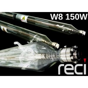 RECI CO2 Glass Laser Tube 150W Model W8 for laser cutter & engravers