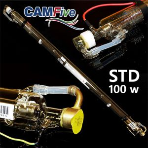 CAMFive Laser CO2 Glass Tube 100W Model STD100 for laser cutter & engravers