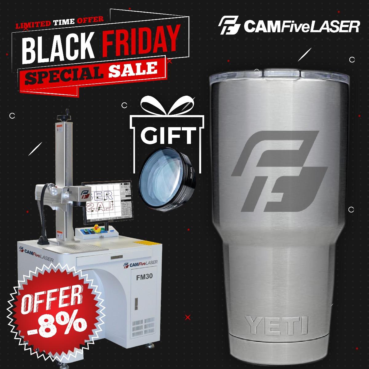 Bordadora Camfive EMB - Black Friday